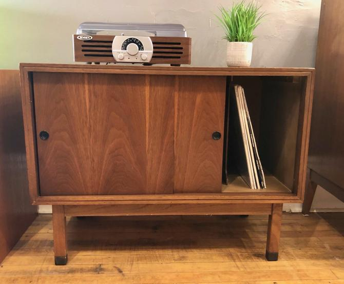 1950's Lane Record Cabinet