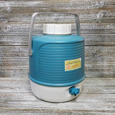 Vintage Ted Williams Sportsman's Jug, Sears & Roebuck Insulated Cooler, Vintage Drink Dispenser Push Button Spigot, Vintage Outdoor Living by AGoGoVintage