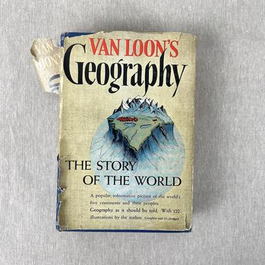 Van Loon's Geography - Garden City Publishing Co. - 1940 hardcover by NextStageVintage