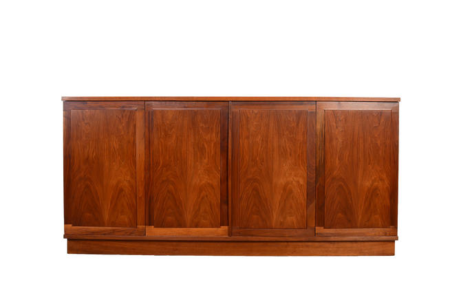 Founders Walnut Credenza Sideboard Jack Cartwright Mid Century Modern by HearthsideHome