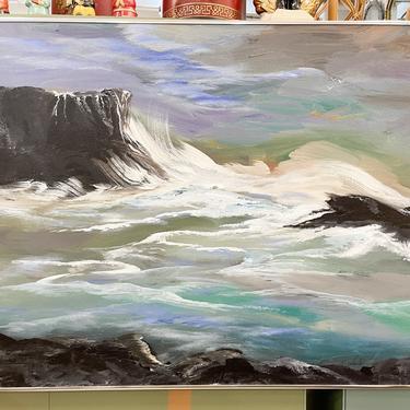 Moody Seascape Original Painting