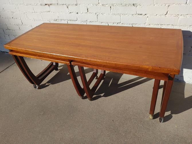 Mid Century Modern Danish Inspired Nesting Tables by VintageVaultTulsa