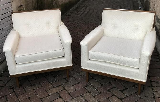 Mid Century Lounge Chairs (pair)