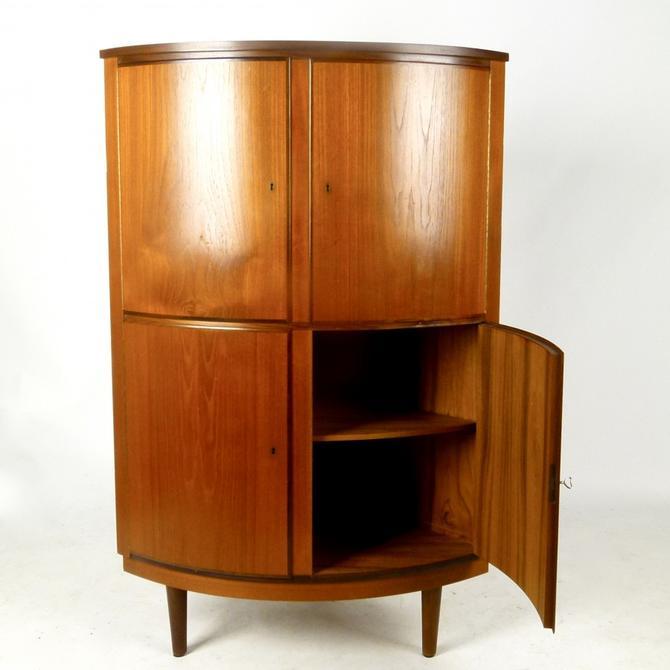 Danish Corner Cabinet