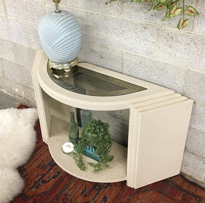 LOCAL PICKUP ONLY ———— Vintage Entryway Console by RetrospectVintage215
