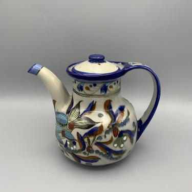 Vintage Ken Edwards Tonala pitcher with lid by CandCmodern