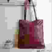 Colorful Leather Tote