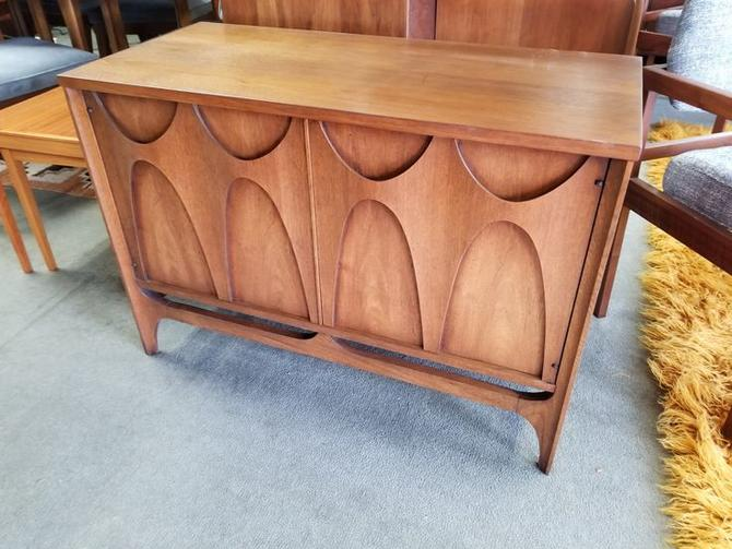 Mid-Century Modern two door chest from the Brasilia collection by Broyhill