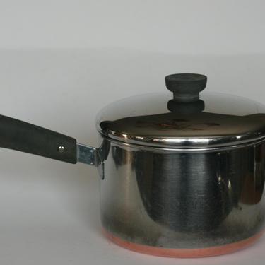 vintage revere ware 3 quart saucepan double ring mark clinton illinois by suesuegonzalas