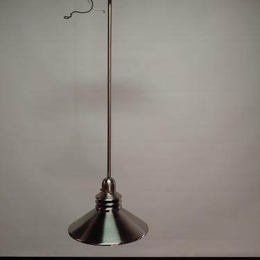 Brushed chrome pendent incandescent lighting 33