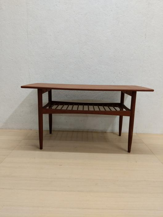 Vintage Danish Modern Teak Coffee Table by FarOutFindsNYC