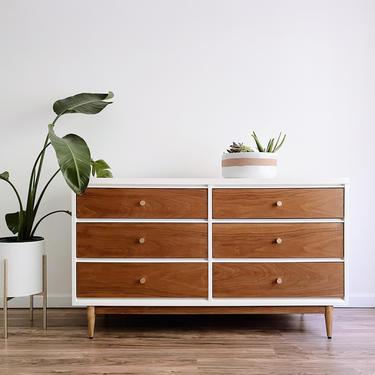 MCM Dresser - Mid-Century Modern Dresser by madenewdesignct