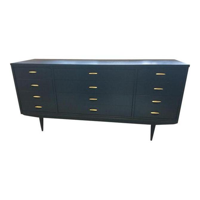 FLASH SALE // Caroline - Long Navy MCM Dresser