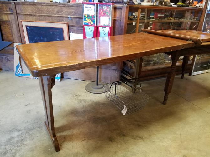 Solid wood folding Murphy table