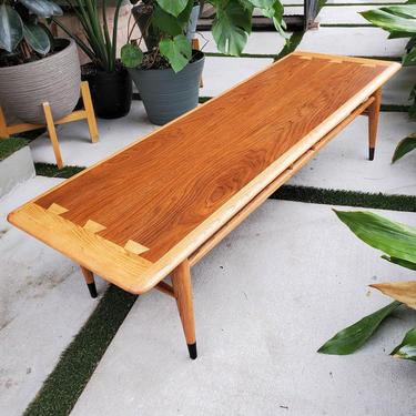 SHIPPING NOT FREE* Lane Acclaim Mid century modern coffee table by AndreaPalmaiDesign