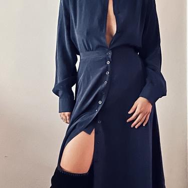 Silk Skirt Set