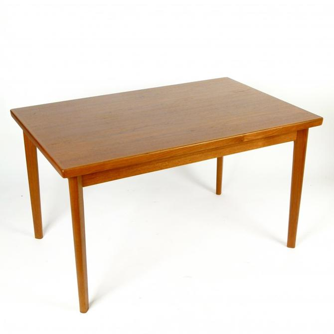Teak Danish Extension Dining Table