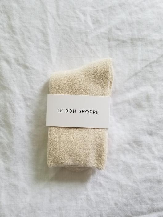 Le Bon Shoppe Cloud Socks - Ecru