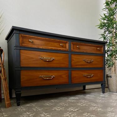 Vintage Italian Provincial Dresser by Drexel Repertoire Collection *Local Pick Up Only by BluePoppyFurniture