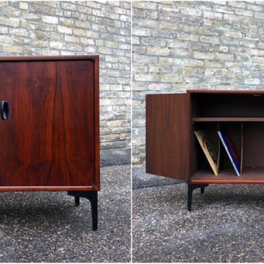 Custom Walnut Stereo Cabinet