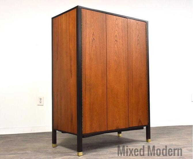 Harvey Probber Teak Armoire Dresser by mixedmodern1