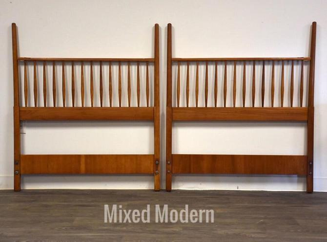 Kipp Stewart Drexel Suncoast Twin Headboards- a Pair by mixedmodern1