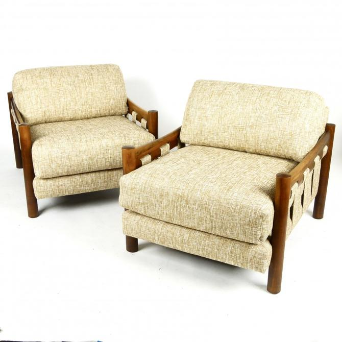Pair of Adrian Pearsall Club Chairs