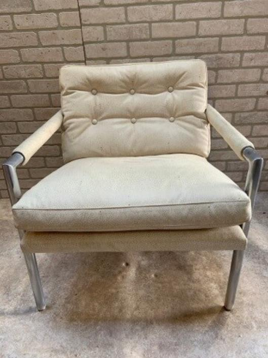 Mid Century Modern Harvey Probber Style Chair Newly Upholstered