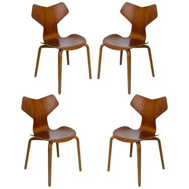 Set of Four Arne Jacobsen