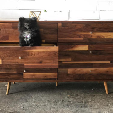 6 Drawer Mid Century Dresser by jeremiahcollection