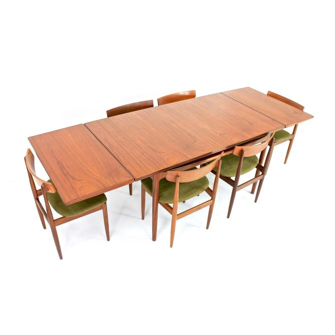 Mid Century Dining Table and 6 chairs by Kofod Larsen for G Plan by SputnikFurnitureLLC