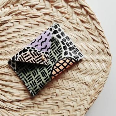 Leather Envelope Wallet-Card Holder- MURSI Collection by rkitekt