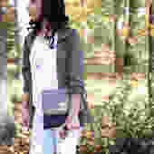 SYONA SPECKLED Versatile Clutch/Crossbag by PanandTea