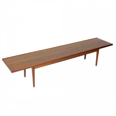 Drexel Declaration Walnut Coffee Table / Bench