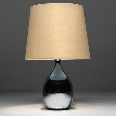 Small Mirrored Table Lamp