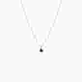 Blue Sapphire Choker Pendant Necklace