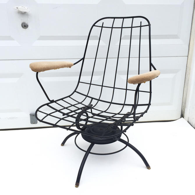 Vintage Homecrest Swivel Lounge Chair by secondhandstory