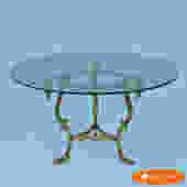 La barge Italian Swan Head Coffee Table
