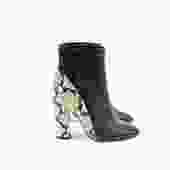 Barneys New York Two-Tone Ankle Boots, Size 39