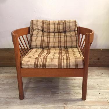 Danish Modern Lounge Chair By Kvadvrat