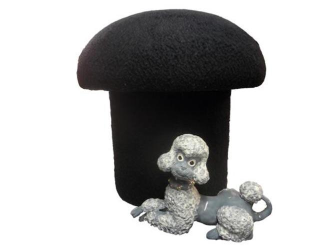 Fine Sale Vintage Mushroom Footstool Mid Century Modern Hassock Foot Stool Ottoman Black Retro Mod Ottoman 1960S Groovy Space Age Stool By Ocoug Best Dining Table And Chair Ideas Images Ocougorg