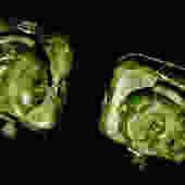 Carved Jade Heads Swank Cufflinks by LegendaryBeast