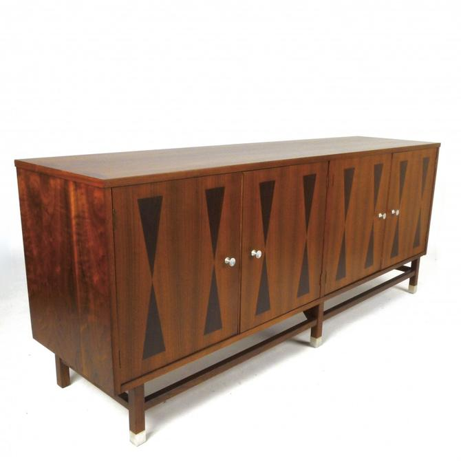 Walnut and Rosewood Sideboard / Credenza