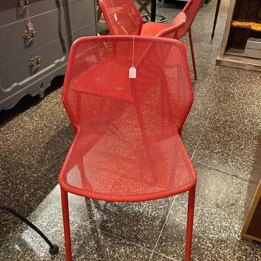 """Vintage EMU Darwin chair(s) 4 available 20"""" x 22"""" x 30"""" seat height 17.5"""""""
