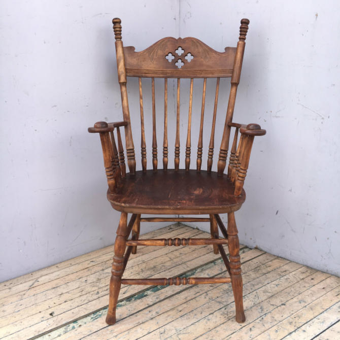Windsor Chair w/ Clover Motif