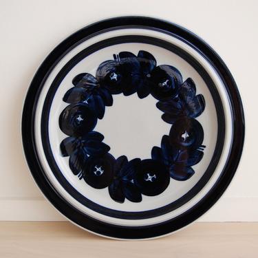 Scandinavian Modern Arabia Finland Anemone Large Serving Plate Ulla Procope by MidCentury55