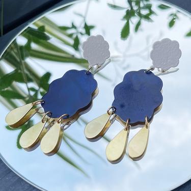 We Dream In Colour Raincloud Earrings