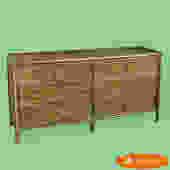 Burnt Bamboo Dresser