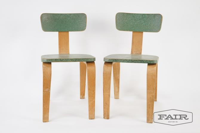 Pair of Bentwood Children's Chairs
