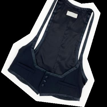 Dior Homme F/W 2008 black thin strap vest